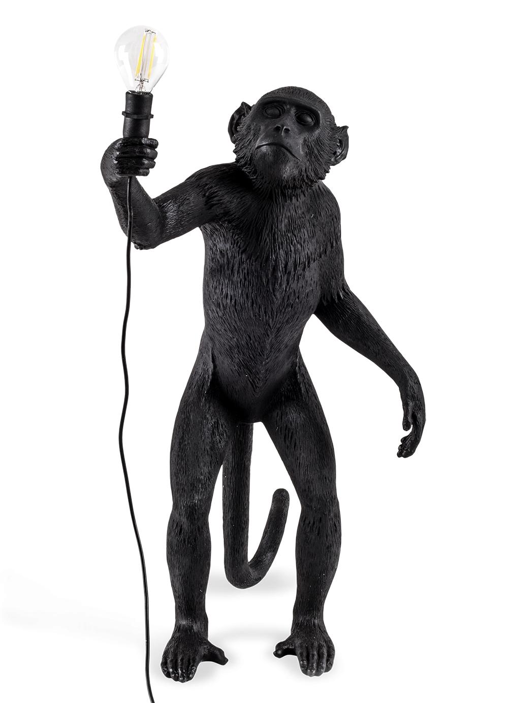 Seletti Outdoor Monkey Lamp, Standing