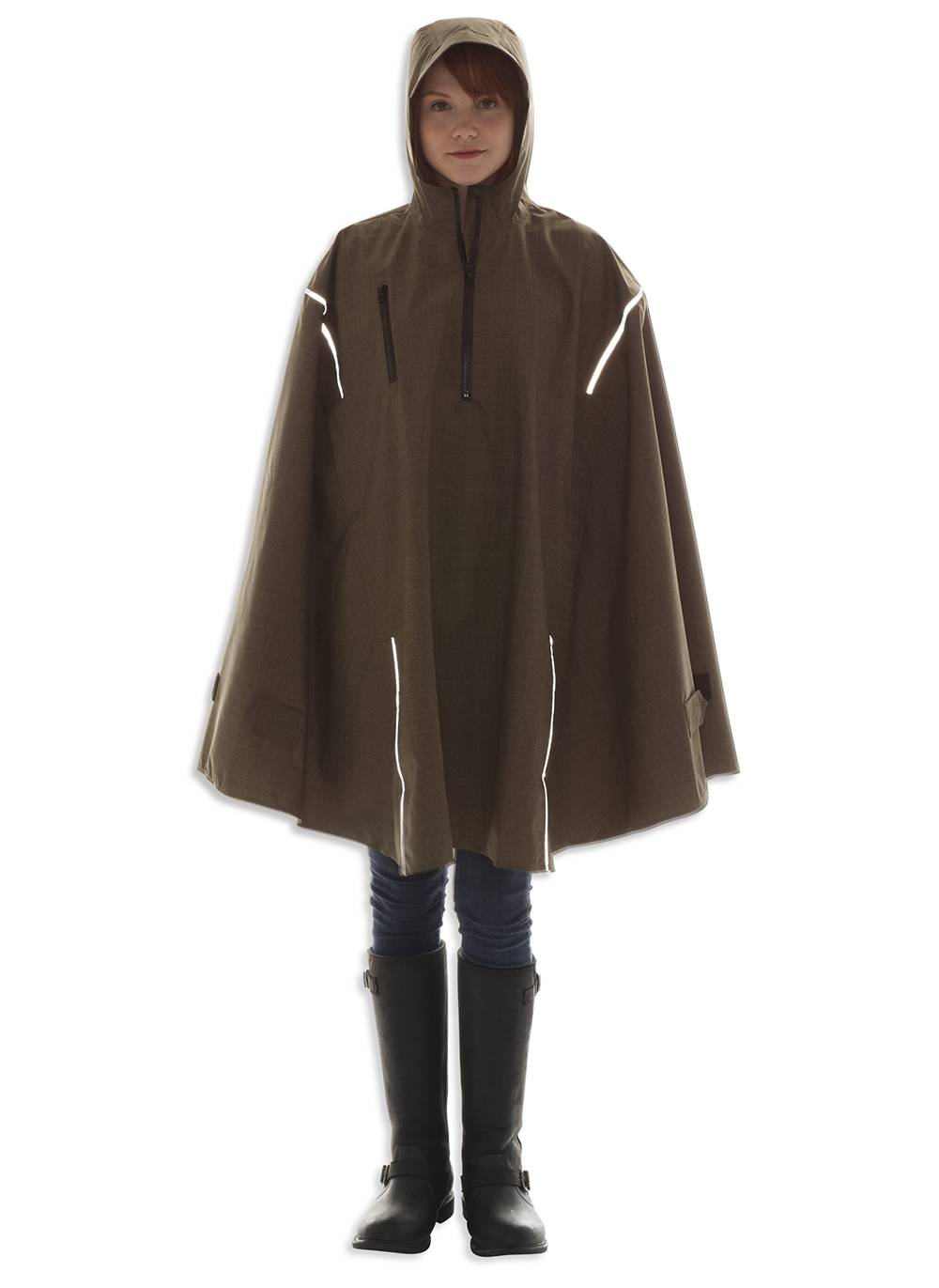John Brown, High-Performance Rain Cape by Cleverhood