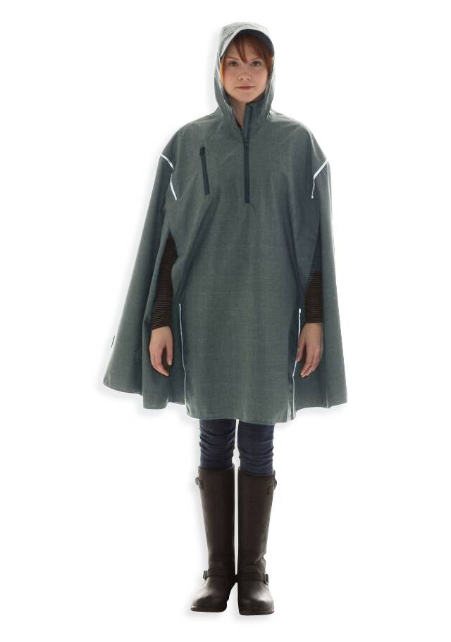 TF Green, High-Performance Rain Cape by Cleverhood