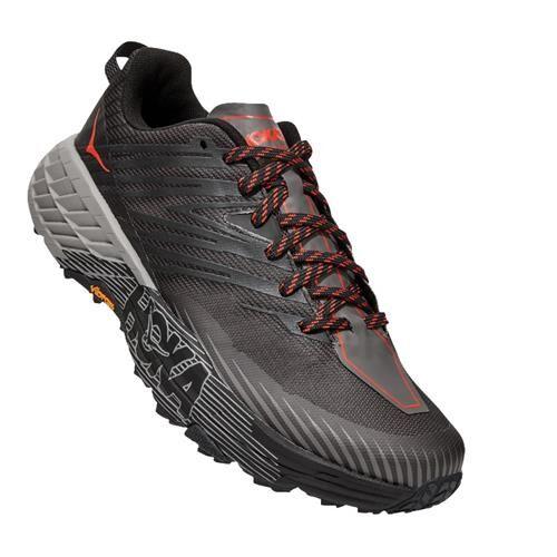 Hoka One One Speedgoat 4 Men's Trail Dark Gull Grey Anthracite 1106525 DGGA