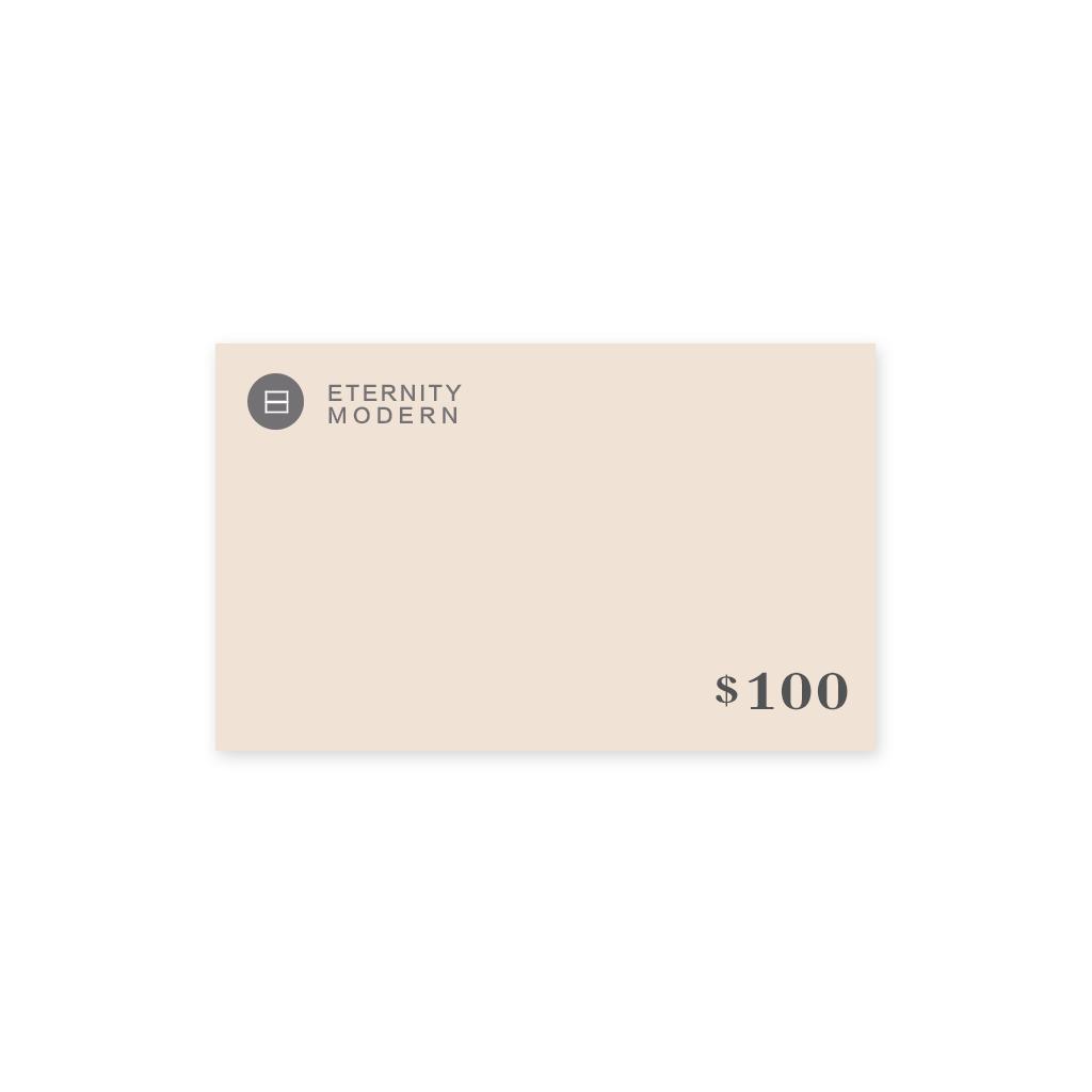 1 Gift Card - Mid Century Modern