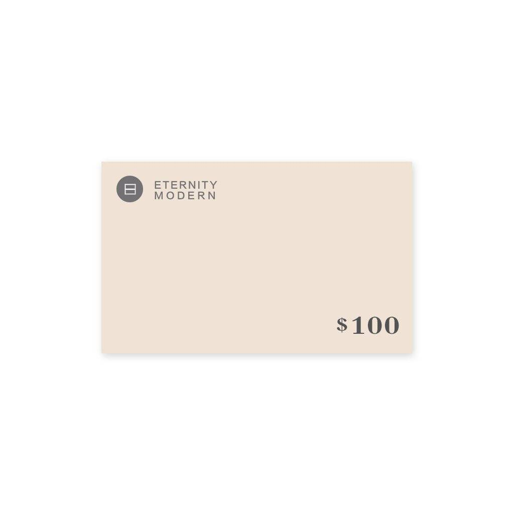 1 Gift Card - $100.00 USD