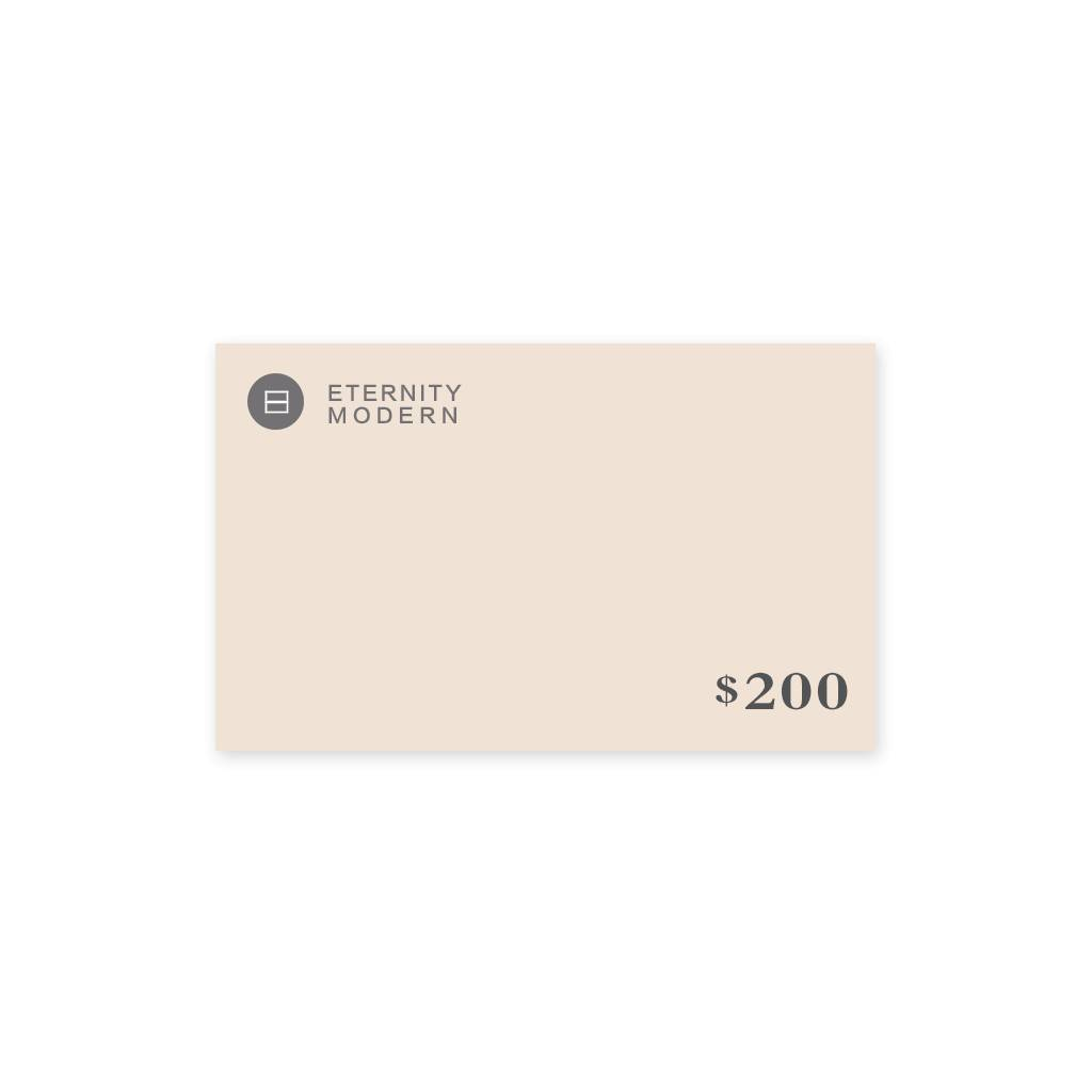 1 Gift Card - $200.00 USD