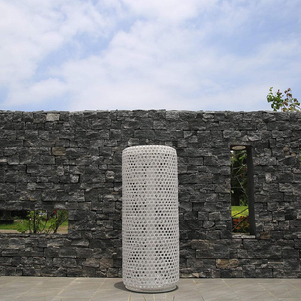 1 Bentall Tall Outdoor Wicker Lantern