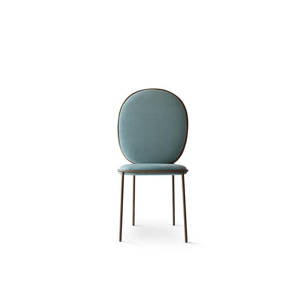 1 Stay Chair - Velvet-Slate Pebble