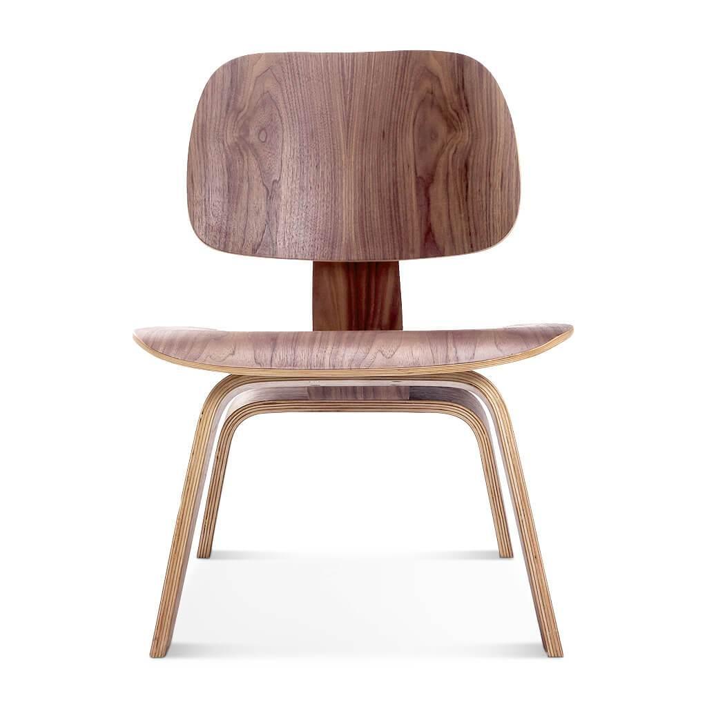 1 Molded Plywood Lounge Chair (lcw) - American Walnut Veneer