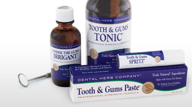 Dental Herb Company Complete Herbal Tooth and Gums Kit