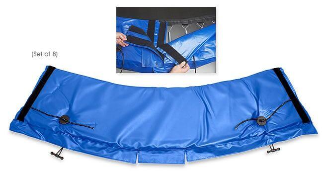 Standard Universal Trampoline Frame Pad Blue