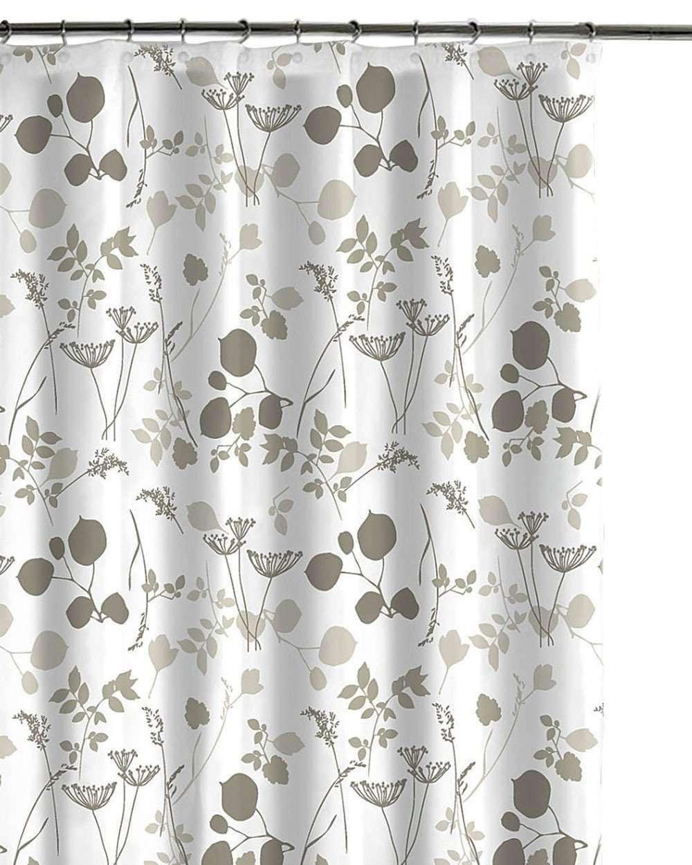 Luxor Linens Giardina Cotton Shower Curtain