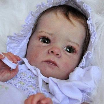 "18"" Alisa Realistic Reborn Baby Girl Doll"