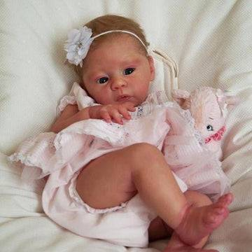 18'' Lifelike Cute Abigail Silicone Reborn Baby Doll