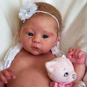 18'' Little Iris Truly Baby Girl Doll