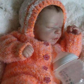 Realistic 17.5'' Siena Reborn Baby Doll Boy