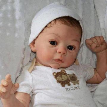 Realistic 18'' Morgan New Silicone Reborn Baby Doll