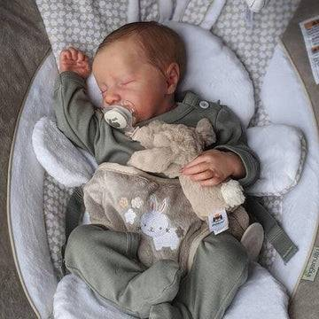 22'' Real Lifelike Kaitlyn Reborn Baby Girl Doll