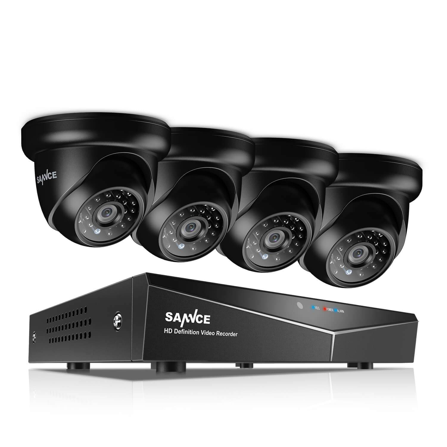 1080P 5 in 1 Camera System with Outdoor Cameras