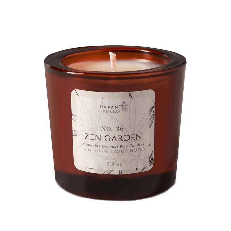 Urban Re-Leaf 36 Zen Garden Coconut Wax Candle
