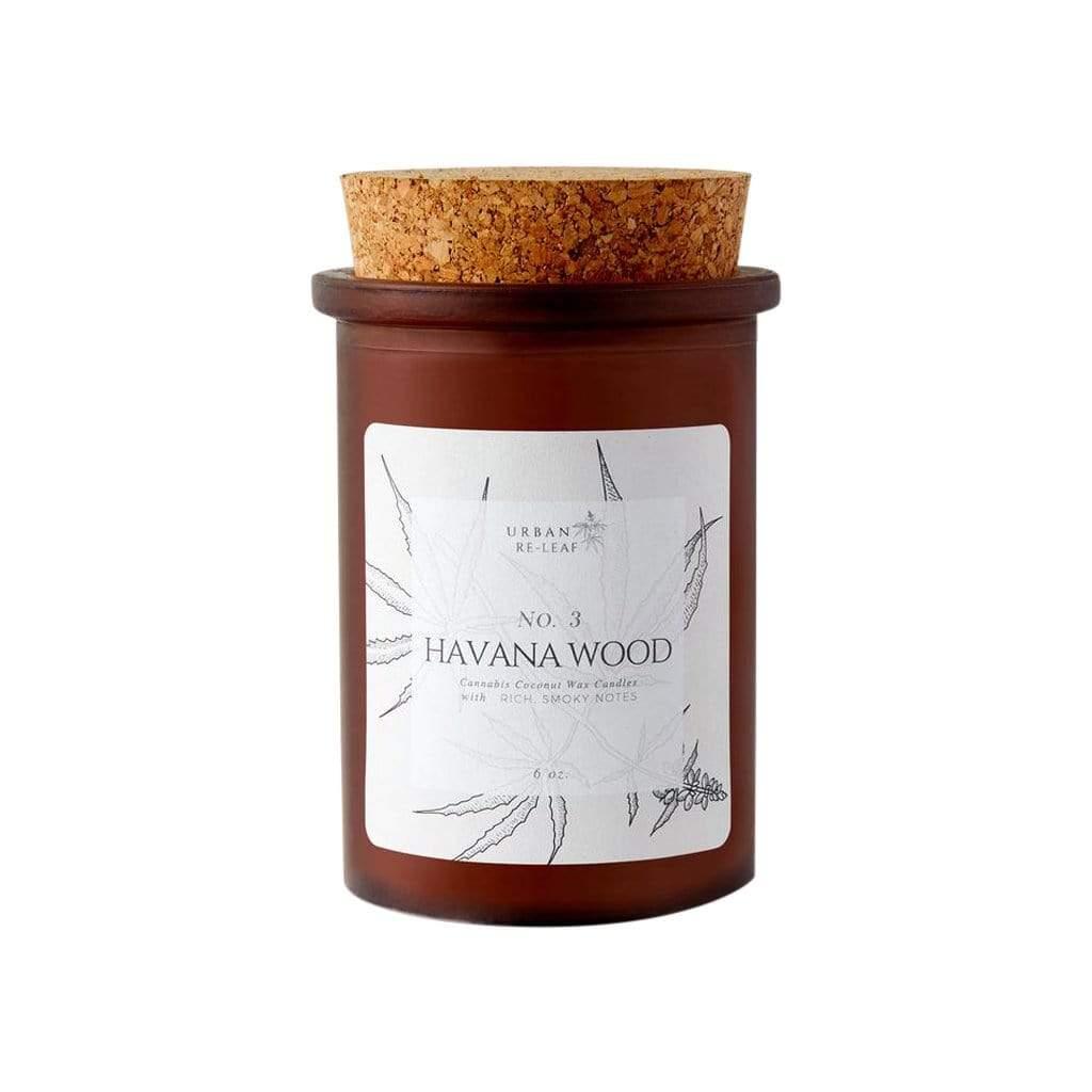 Urban Re-Leaf 3 Havana Wood Coconut Wax Candle