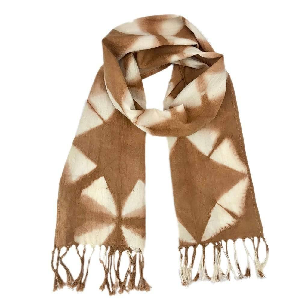 Slate & Salt Almond Tie Dyed Scarf  - multicolor - Size: One Size