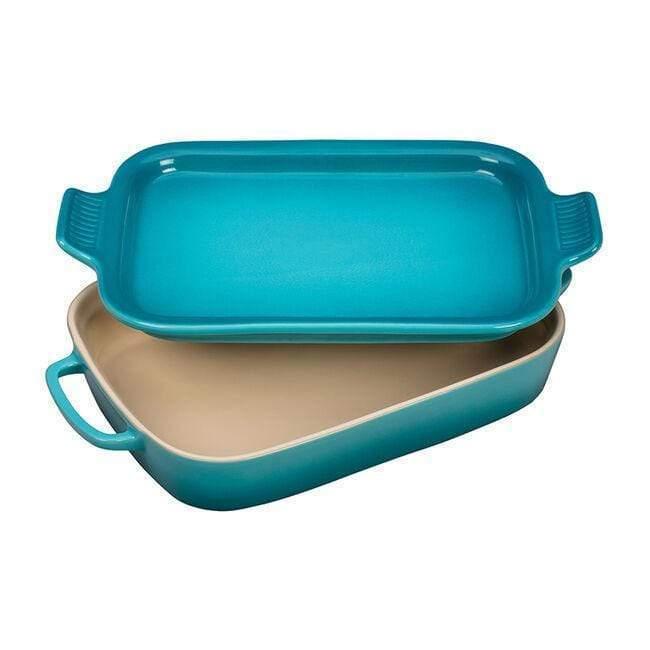 Le Creuset Rectangular Dish with Platter Lid