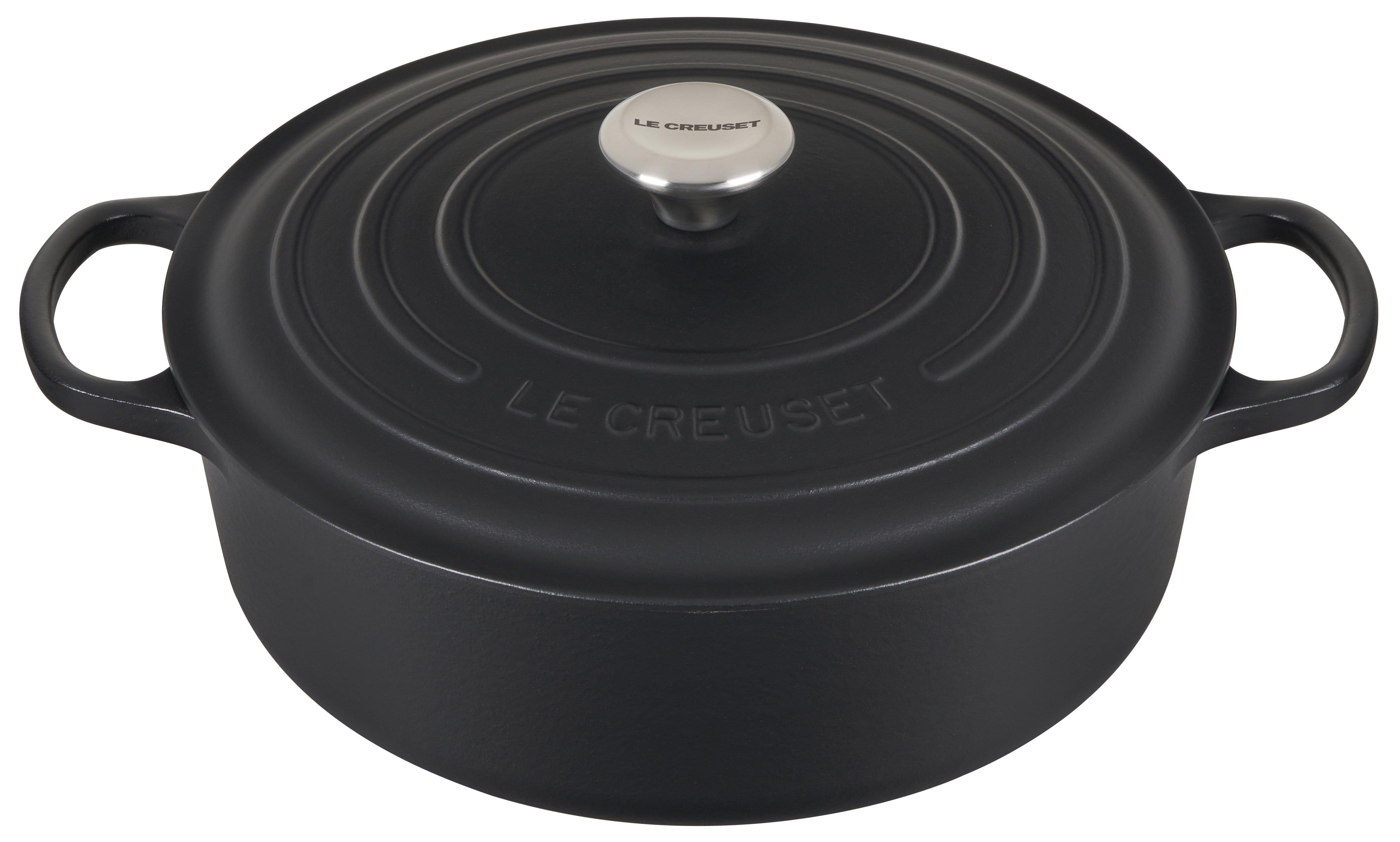 Le Creuset Signature 6.75-Qt. Round Wide Dutch Oven