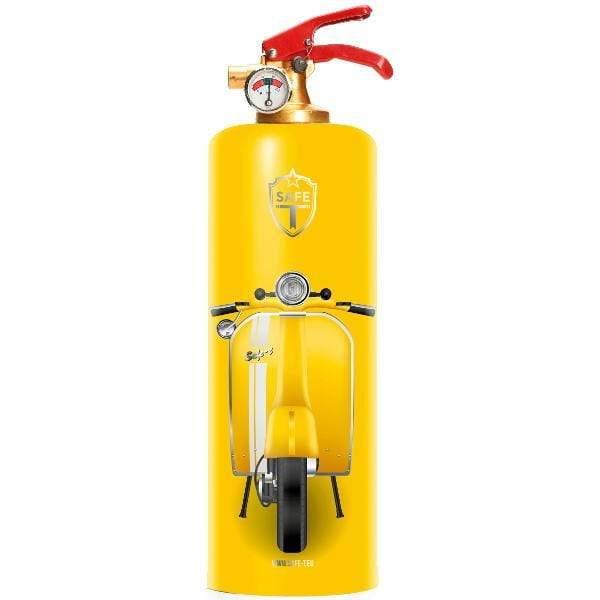 Safe-T V-Yellow Designer Fire Extinguisher