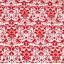 Sheetworld.com Crib / Toddler - Red Damask - Flat This luxurious 100% cotton  woven  %SIZENAME% sheet featuresa red damask print on a white background. Our sheets are made of the highest quality fabric that's measured at a 280 tc. That means these sheets are soft and durable. Sheets are made with deep pockets and are elasticized around the entire edge which