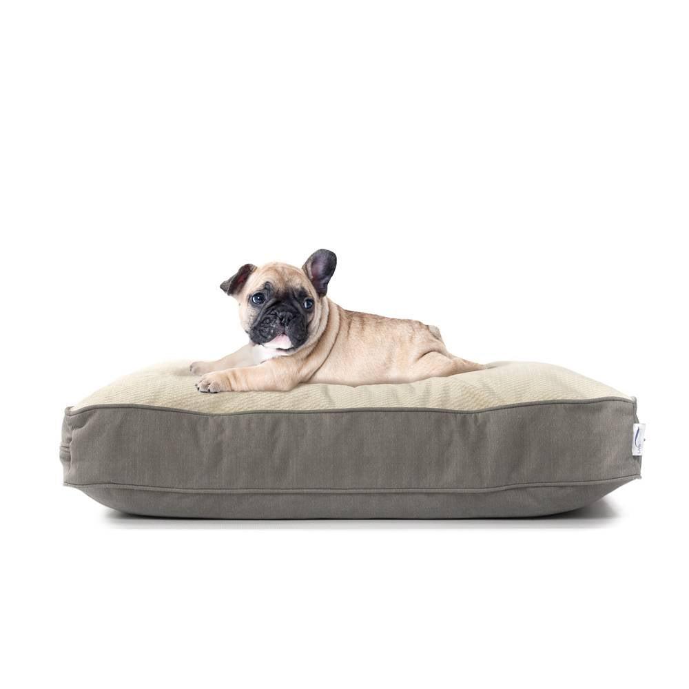 eLuxury Orthopedic Cluster Fiber Filled Pet Bed w/ Stain Repellant LiveSmart Technology