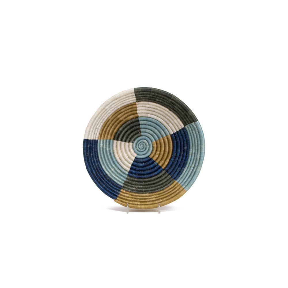 Jennifer Adams® Medium Silver Blue Umuseke Basket by Jennifer Adams®