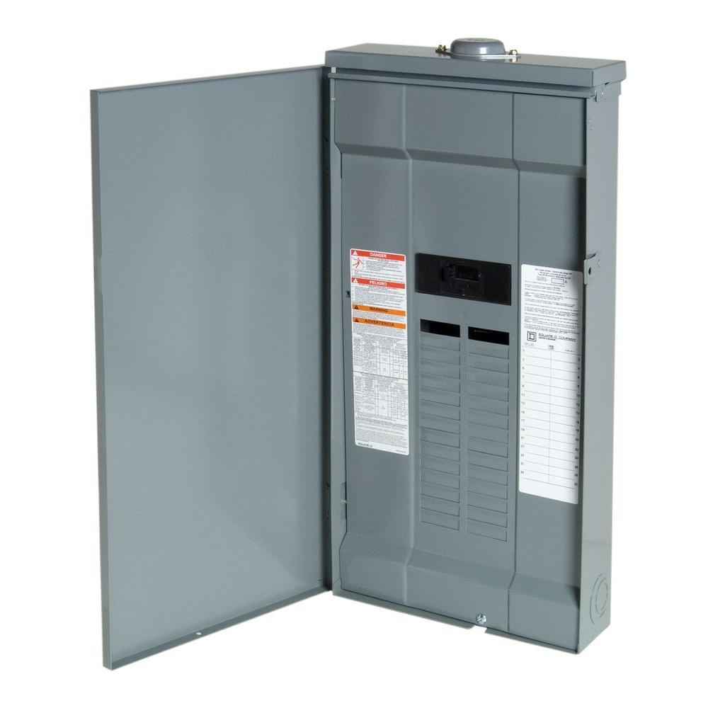 Square D Qo130m200prb Qo Plug-on Neutral Main Breaker Outdoor Load Center