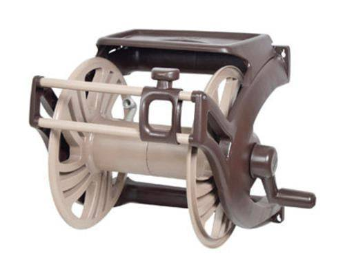 Ames 2415500 Neverleak Wall Mount Hose Reel With Accessory Tray