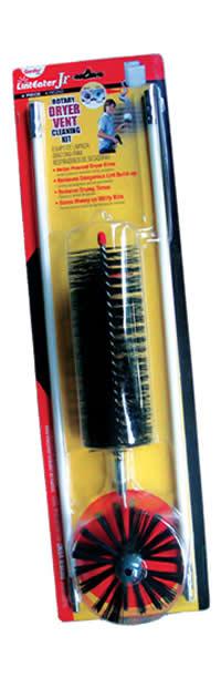 Gardus Linteater Jr. Rjr601 Rotary Dryer Vent Cleaning Kit, 4-piece