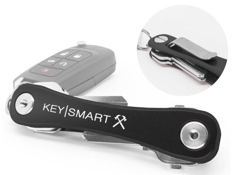 Keysmart Ks607r-black Multi-tool Key Holder, Aluminum, Black
