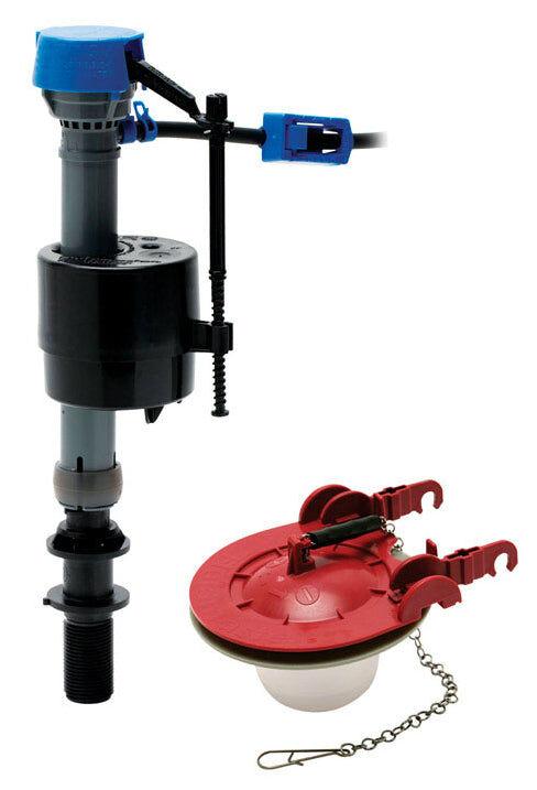 "Fluidmaster 400car3p5 Plastic Toilet Repair Kit, 15"" H"