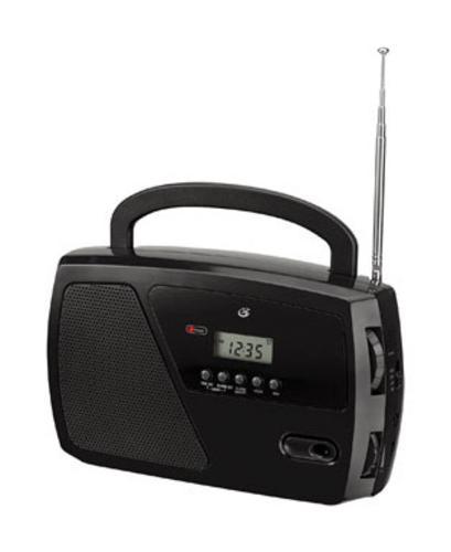 Gpx R633b Digital Black Portable Radio Alarm