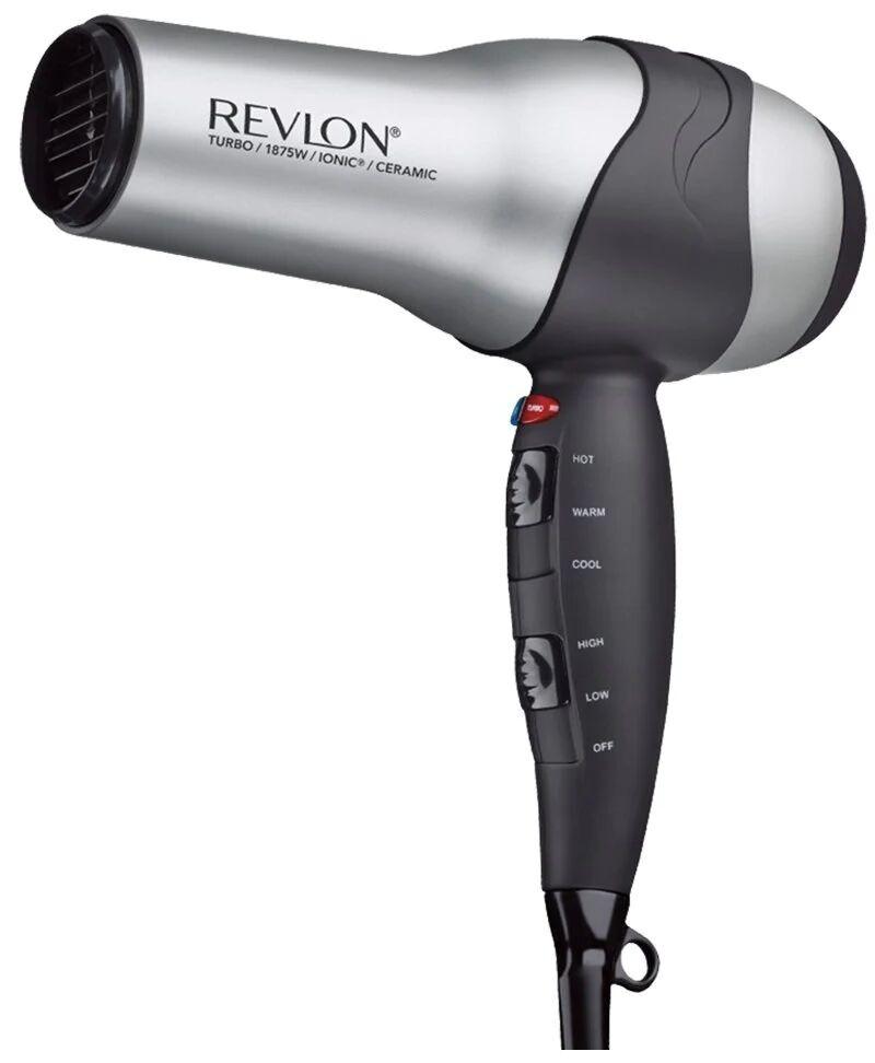 Revlon Rv473 Perfect Heat Volumizing Turbo Hair Dryer, 1875 W