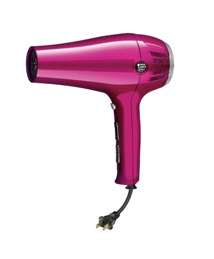 Conair 209r Ionic Ceramic Cord Keeper Hair Dryer, Pink, 1875 Watts