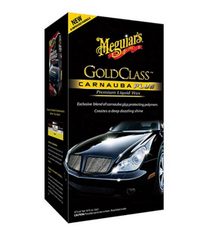 Meguiar's G-7016 Gold Class Car Wax Liquid, 16 Oz