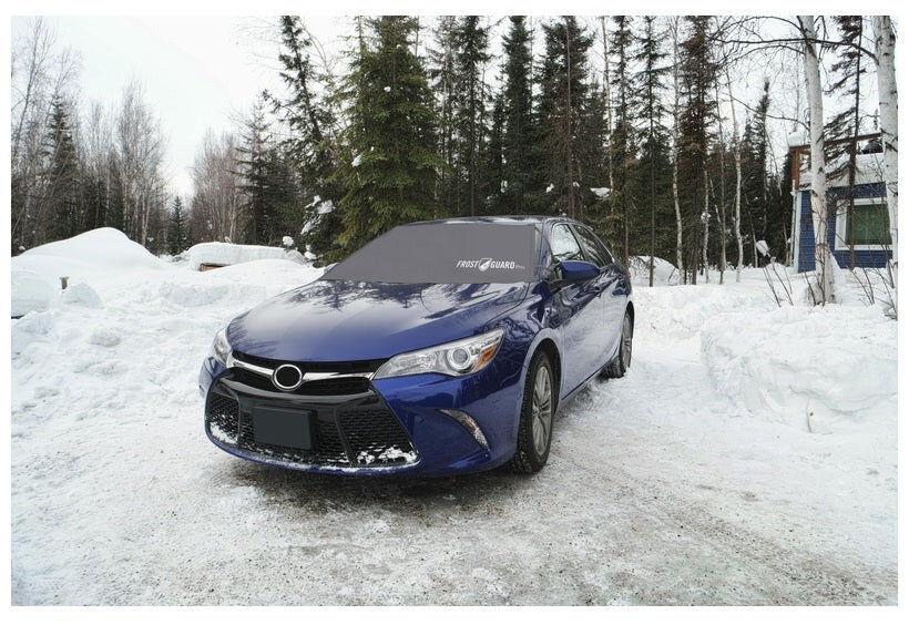 "Frostguard 52871 Car Windshield Cover, Black, 41"" H X 70"" W"