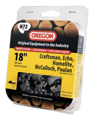 """Oregon H72 Replacement Saw Chain, 18"""""""