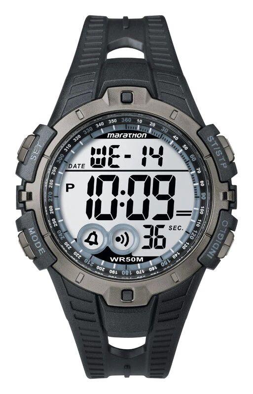 Marathon T5k8029j Men Digital Sports Watch, Black