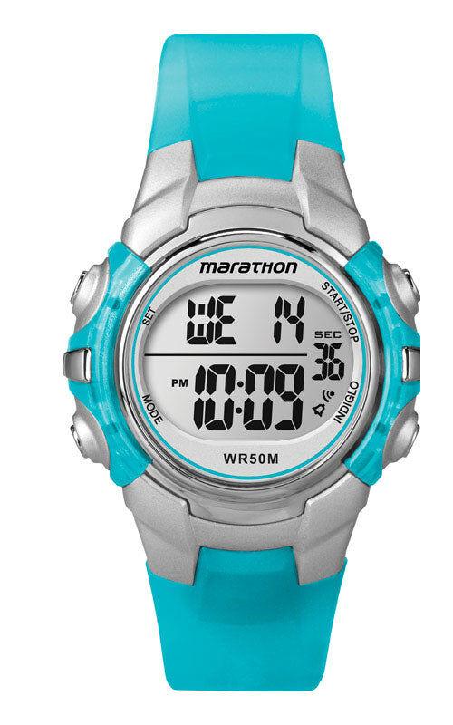 Timex Marathon T5k8179j Women Digital Sports Watch, Blue