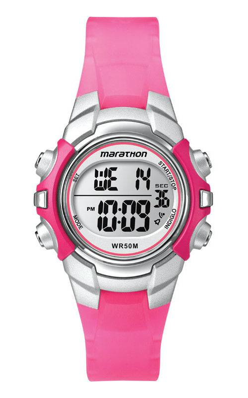 Marathon T5k8089j Women Digital Sports Watch, Pink