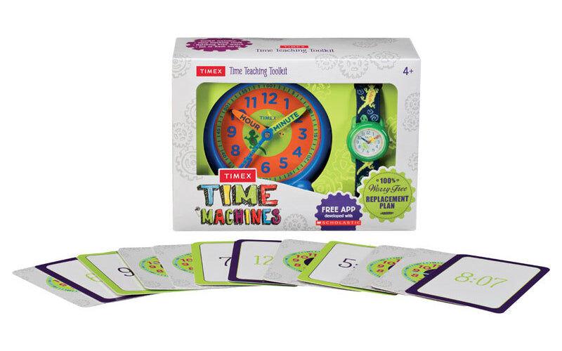 Timex Twg0149002g Time Machines Boy Analog Watch/clock, Green