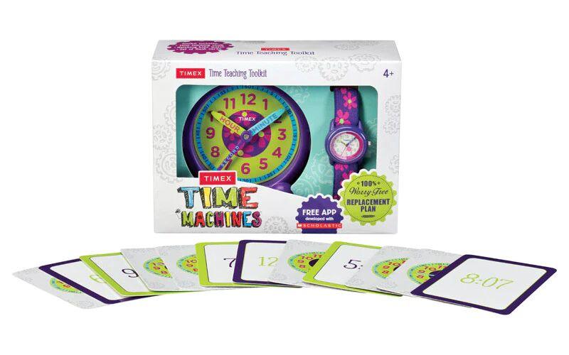Timex Twg0148002g Time Machines Girl Watch/clock, Purple