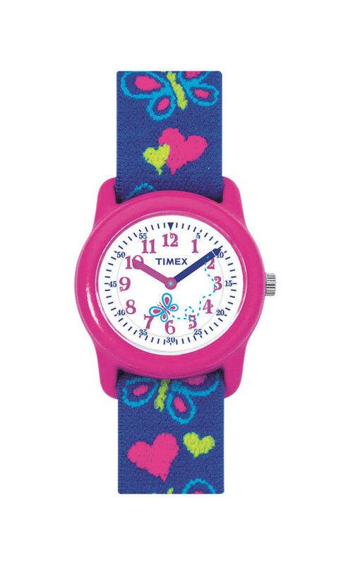 Timex T89001xy Girl Analog Wrist Watch, Pink/purple