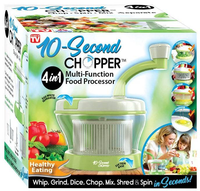 10-second Chopper Hwr-06901116 As Seen On Tv Multi-function Food Processor