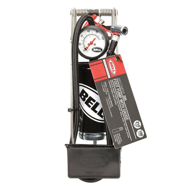 Bell Sports 7090859 Bicycle Foot Pump, Steel, 100 Psi
