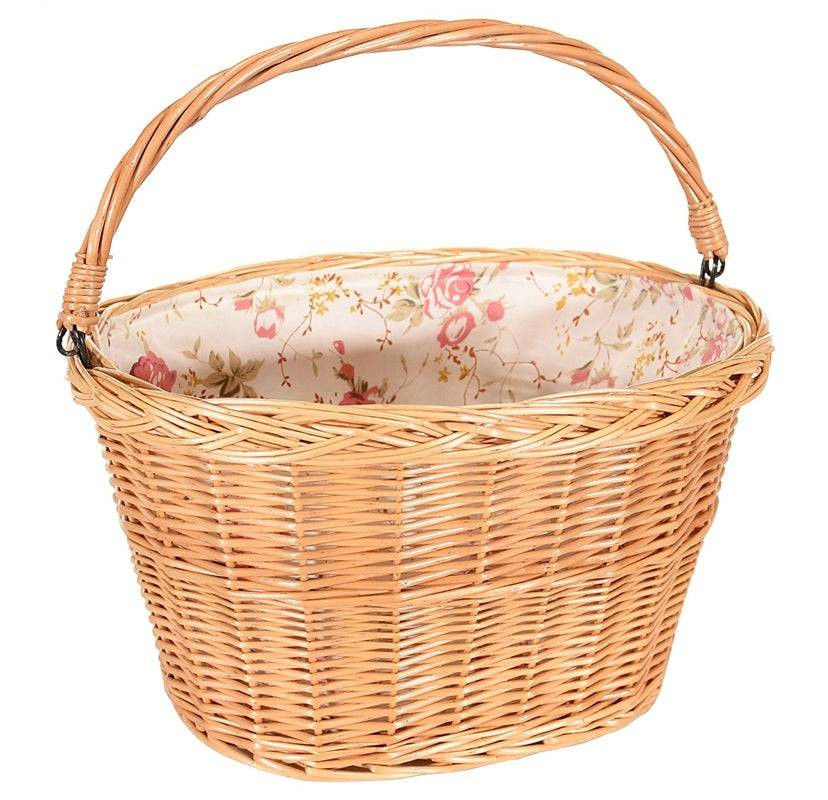 Kent 65230 Wicker Basket With Liner, Large
