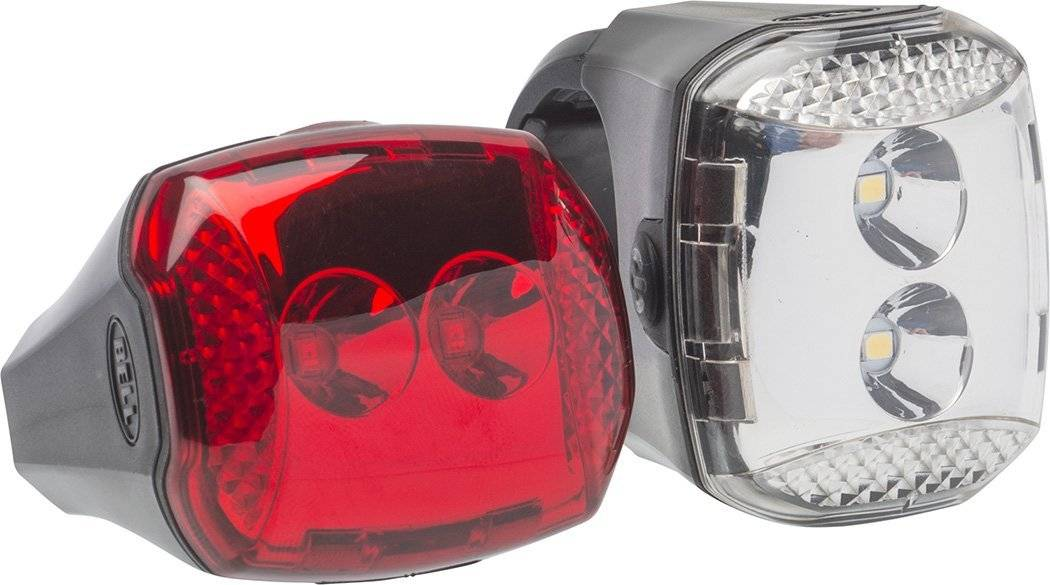 Bell Sports 7015561 Radian Bicycle Light Set